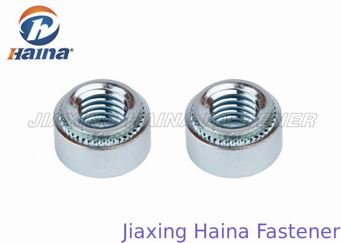 Stainless Steel Rivet Nuts Round Head , Convenient Self Clinch Nuts For Sheet Metal
